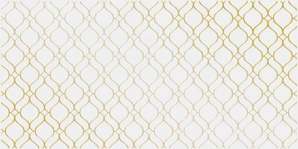Декор настенный керамический  Deco орнамент золотистый DE2L381DT-36
