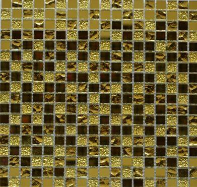 Плитка мозаика Bonaparte Mirror gold